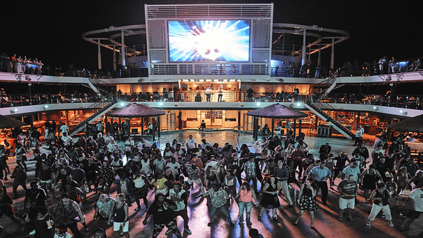 cruises and all-inclusive resorts crowd on cruise